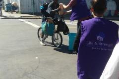Ayuda en las calles